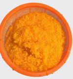 El mandarín naranja en el estaño con alta calidad