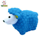 Оптовая торговля синий цвет овец сельскохозяйственных животных Мягкая игрушка для ванны для детей