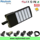 Indicatore luminoso del pubblico 100With150With200With300W LED Shoebox dell'installatore di slittamento di mercato degli Stati Uniti IP65