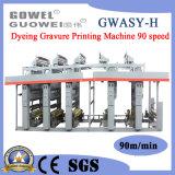 L'héliogravure machine de teinture spécialisée dans 90 mpm
