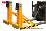 China stellte Gabelstapler der Qualitäts-1000kg her, Ergreifen-Schwarzen einzelnen Gator Griff-Typen Dg1000c zu trommeln
