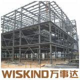 Estructura de acero de sección H-Edificio para Centro Comercial con la certificación ISO