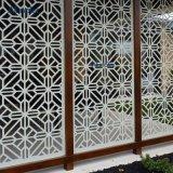 2018 robuste en métal peint de couleur des panneaux de paroi perforée pour le jardin