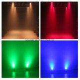 7PCS 10W RGBW LEDの小型移動ヘッドライト