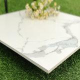 Poetste het Witte Marmeren Verglaasde Ontwerp van het Bouwmateriaal de Ceramische Tegel van de Muur voor de Vloer van de Badkamers op (CAR1200P)