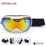 Equipamiento deportivo personalizado promoción anti niebla nieve Skateboard compra al por mayor gafas de protección UV Airsoft Esquí gafas de seguridad