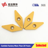 Inserciones de carburo de tungsteno Vnmg inserciones de herramientas de corte máquina CNC