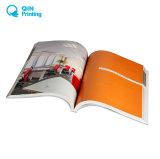 無線綴じとの専門カタログの印刷