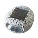 屋外の太陽経路または壁または塀の軽い景色の照明小石の装飾的な石明るいLEDの石ライト