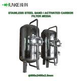 Acero inoxidable Industrial agua antibacteriano filtro para el tratamiento de agua