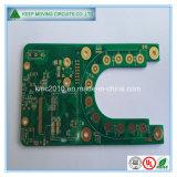 緑のはんだマスクが付いている高品質PCBのボード
