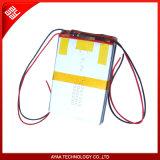 Pacchetto ricaricabile della batteria del Li-Polimero di 3.7V 10ah per il sistema di GPS