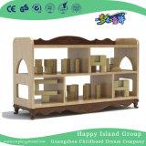 Новый дизайн детский деревянный шкаф для хранения перегородки (HJ-4708)