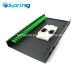 선반 마운트 광섬유 패치 패널을 미끄러지는 E2K 1u ODF