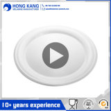 Hauswaren-Tellersegment-Plastikdekoration-Melamin-Platte