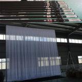 Aluminiumhintergrund-Standplatz-Rohr drapieren