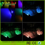 Os holofotes 110-240V PI65 10W-100W Lâmpada do Holofote de LED RGB