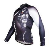 Людей верхних частей куртки волка втулка Breathable задействуя Джерси холодных длинняя