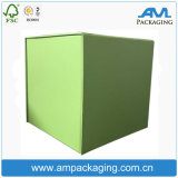 Cube de grande taille de stockage de boîte en carton ondulé boîte en carton<br/> Fabricant de vêtements