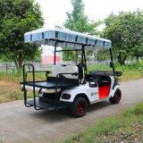 カスタマイズされた4人の乗客の電気ゴルフカート