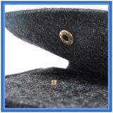 Diseño popular 0.5cm barato fieltro filtro de la manga del ordenador portátil, Personalizado portátil de la cartera con cierre con botones