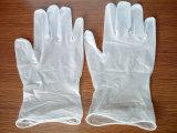 El polvo disponible de los guantes de la examinación del nitrilo libera