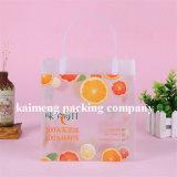 ハンドルが付いている中国の供給のオレンジジュースのパッケージのプラスチックPVC昇進袋