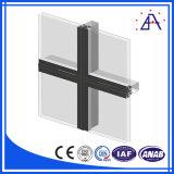 Mur rideau en aluminium unitizé