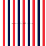 100%Polyester rode Blauwe Pigment&Disperse Afgedrukte Stof voor de Reeks van het Beddegoed