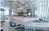 Ce аттестовал Prefab конструкцию выставочного зала выставки автомобиля 4s структурно стали самомоднейшую