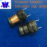 Ferrite Drum Core Radial Leaded Power Filter Coil Inductors com 47uh 100uh 220uh 1mh
