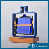 Estante de visualización único de la botella del licor del LED ABS&Steel (HJ-DWL04)