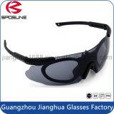 La coutume chaude de vente folâtre les lunettes de sûreté militaires de protection d'oeil de lunettes de soleil de lunetterie de myopie