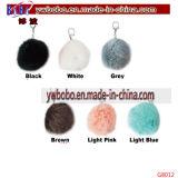 De PromotiePunten die van China van Yiwu het Kunstmatige Bont Keychain van de Agent (G8012) kopen
