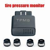 Android 4 Wheel Tire Pressure Temperature Monitor TPMS Sensores Externos