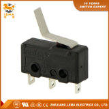 Kw12-15 Bent Lever Solder Terminal Mini Micro Switch