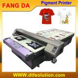 Máquina de impressão de tecido com tinta de pigmento