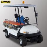 Carrello di golf elettrico dell'ambulanza di 2 Seater