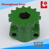Pulverizar la brida de plástico verde