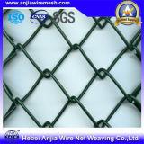 Горячая загородка звена цепи ячеистой сети утюга Galvanzied сбывания с высоким качеством