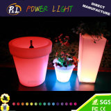 Home Furniture LED Plastic High Hotel Flower Vase