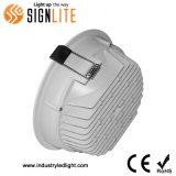 20W LED Downlight empotrable de techo, antirreflejos con Ugr<19