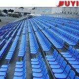Jy-715高品質ファブリックTip-upバスケットボールによって使用される競技場の観覧席の鋼鉄足のプラットホームのプラスチックシートの携帯用中国の製造者の体操