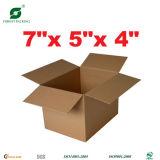 カスタムロゴのFoldableカラー段ボール紙ボックス