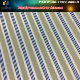 衣服(S006.108)のための敏速な商品ポリエステルヤーンの染められた縞ファブリック