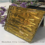 10mm+Silk+5mm 황금 훈장을%s 미러에 의하여 주문을 받아서 만들어지는 예술 유리 또는 안전 유리