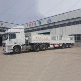 Duurzame Chinese tri-As 60 Ton Aanhangwagen van de Staak van de Semi voor Verkoop