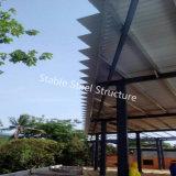 Construction préfabriquée d'atelier de structure métallique pour la Thaïlande