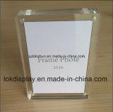 Doppeltes versieht Acrylfoto-Rahmen für Abbildung-Bildschirmanzeige mit Seiten