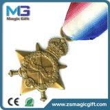 Alta medaglia del metallo di servizio della difesa della Corea personalizzata Quqality